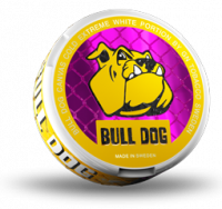 Bull Dog All White Snus