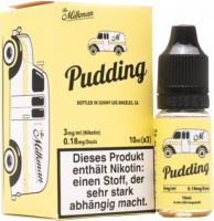 The Milkman Pudding liquid 3x 10ml 3mg Nikotin