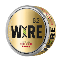 G. 3 WIRE Slim White Dry Super Strong