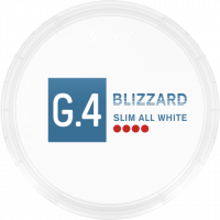 G.4 Blizzard Slim All White Blue Mint