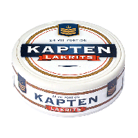 Kapten Lakrits White Portion Snus