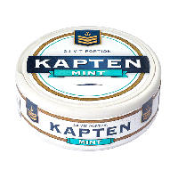 Kapten White Mint Portion Snus