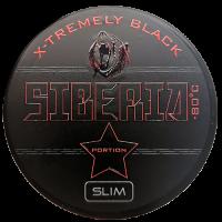 Siberia Black Portion Slim