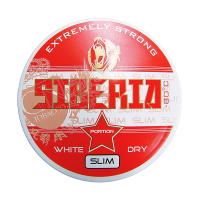 Siberia Red -80 Deg. Extreme White Dry Slim