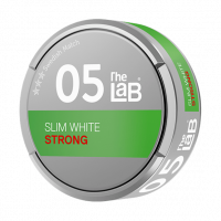 The Lab Slim White Strong Snus