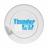 Thunder Cool Mint Slim White Dry