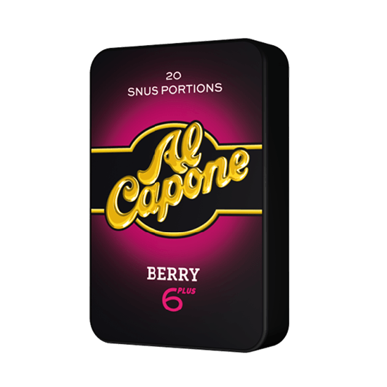 Al capone berry mini snus