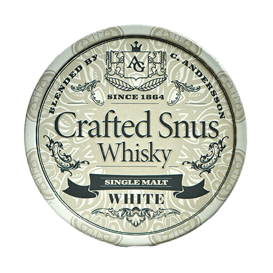Crafted Snus Whisky White Snus