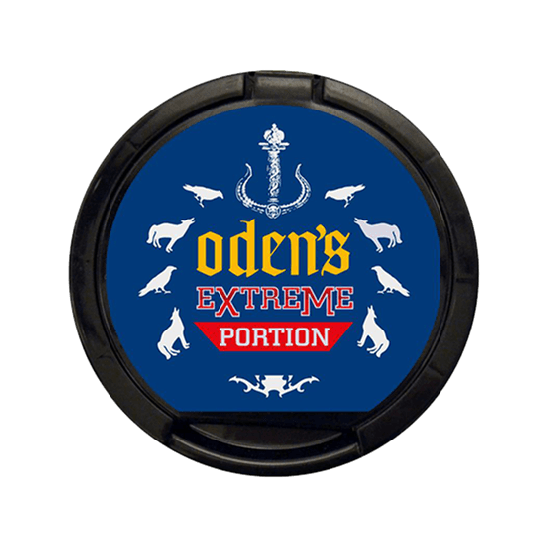 Odens Extreme Portion Lakrits