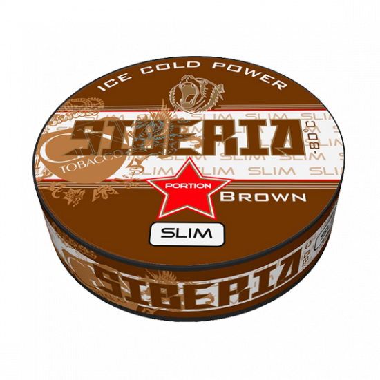 Siberia Brown Slim Snus