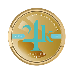 24K Crystal Swedish Snus