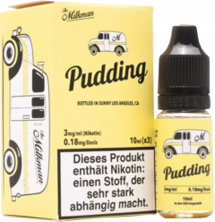 The Milkman Pudding liquid 3x 10ml 3mg Nikotin