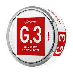 General G.3 Slim White Extra Strong