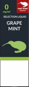 Red Kiwi Selection Liquid Grape Mint 4mg Nikotin