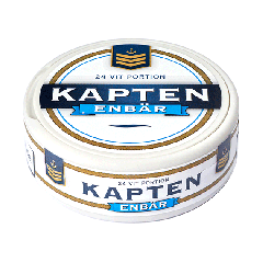 Kapten Enbär White Portion Snus