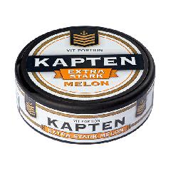 Kapten Melon Extra Stark Portion Snus