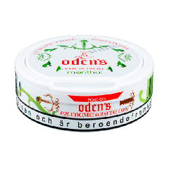 Odens Extreme White Dry Menthol