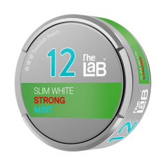 The Lab Slim White Strong Mint Snus