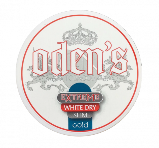 Odens Extremee White Dry Cold Slim Snus