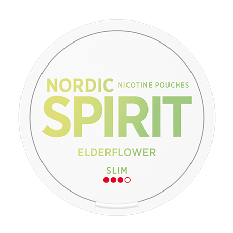 Nordic Spirit Elderflower snus
