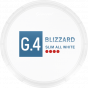 G.4 Blizzard Slim All White Blue Mint