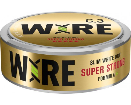 General G.3 Wire Super Strong Slim White Dry Portion