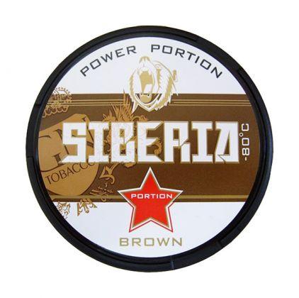 Siberia Brown Portion 20g Snus