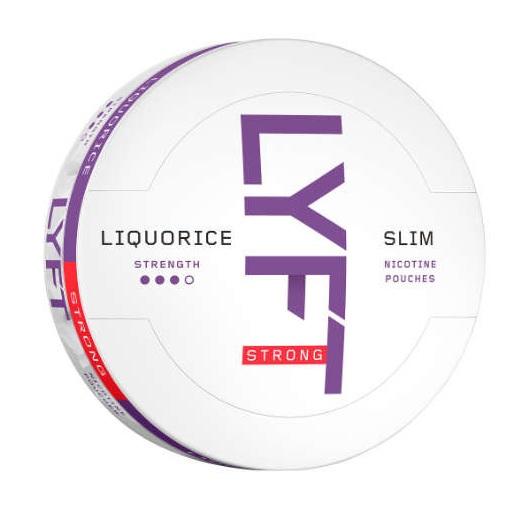 LYFT Liquorice Slim Strong White Snus