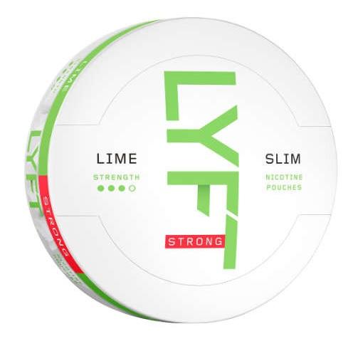 LYFT Lime Slim Strong White Snus