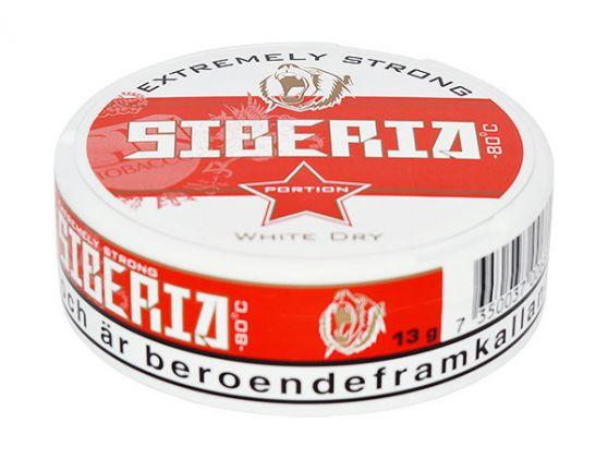Siberia Rot White Dry Snus