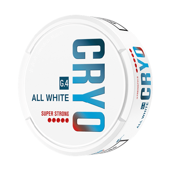 G.4 Cryo All White Super Strong Snus