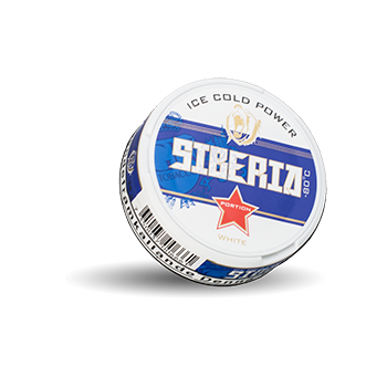 Siberia Blue White Portion Snus