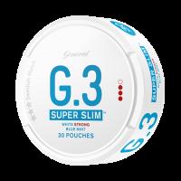 Super Slim White Strong Blue Mint Snus