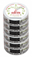 Oden's Menthol Xylitol Extreme White Dry Portion Sixpack
