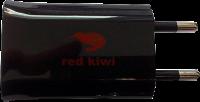 Red Kiwi 220 V Stromadapter mit USB-Anschluss