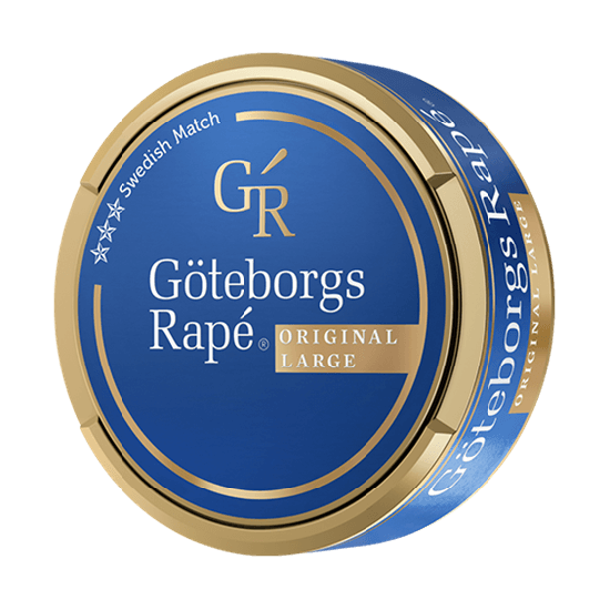 Göteborgs Rapé Original Large Snus