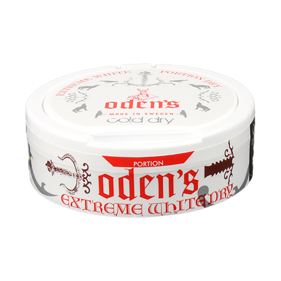 Odens Cold Extreme White Dry snus